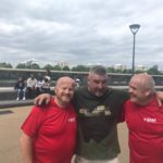 Brian and John with Phil Campion at BMF Training