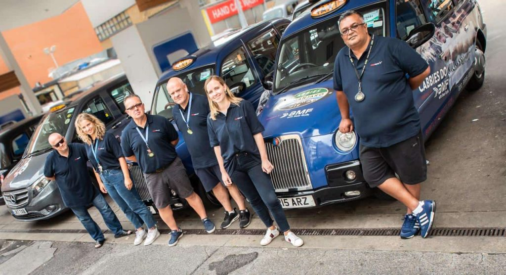 Fat Cabbies with Free Now Last Photo Shoot