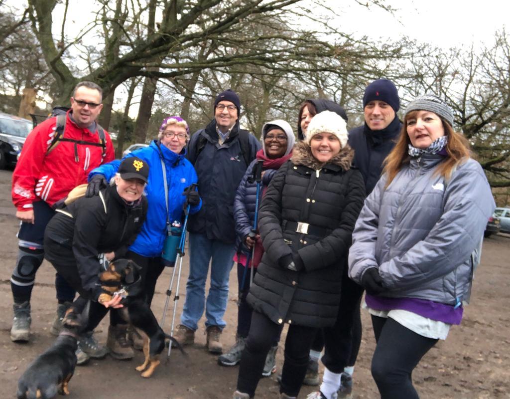 Richmond Park Group Walk Jan 2020